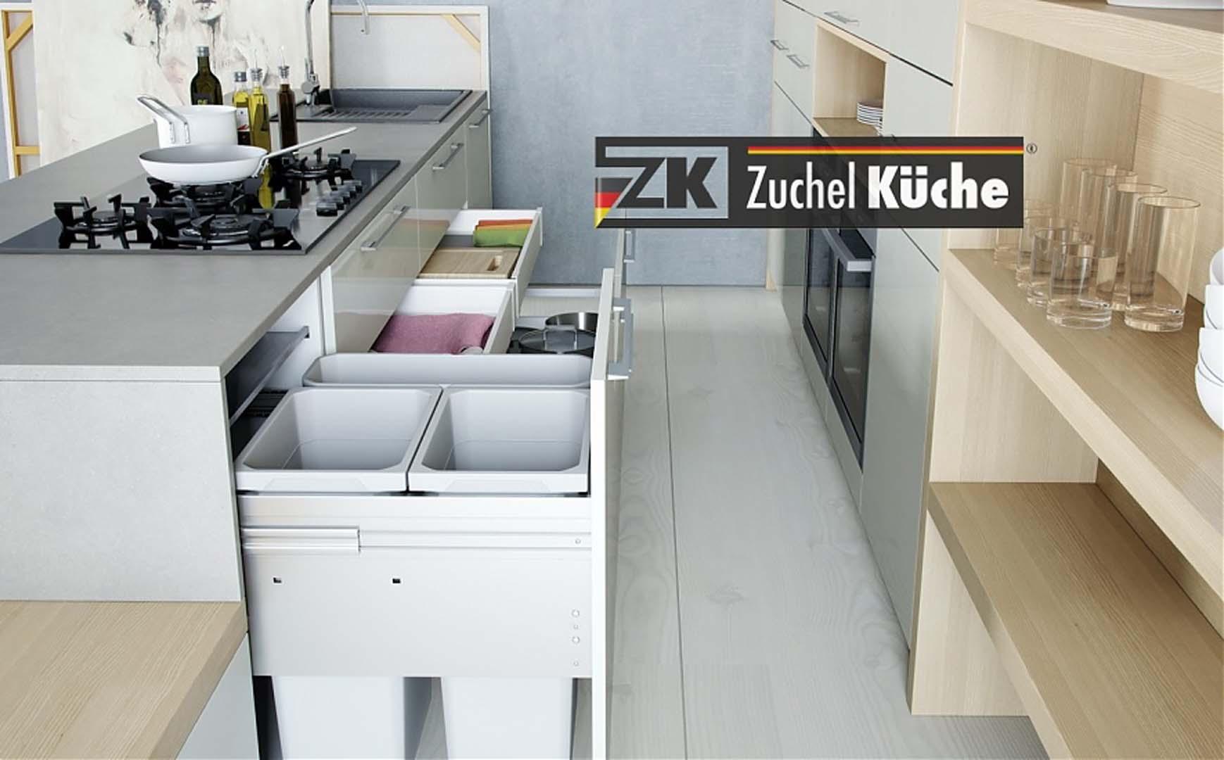 k chen modern zuchel k che. Black Bedroom Furniture Sets. Home Design Ideas